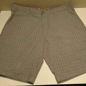 Micros Flat Front Casual Shorts 33W